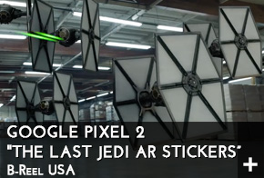 The Last Jedi AR Stickers